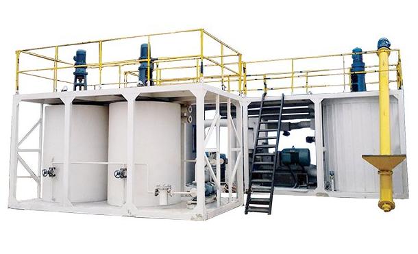 SBS polymer modified bitumen plant