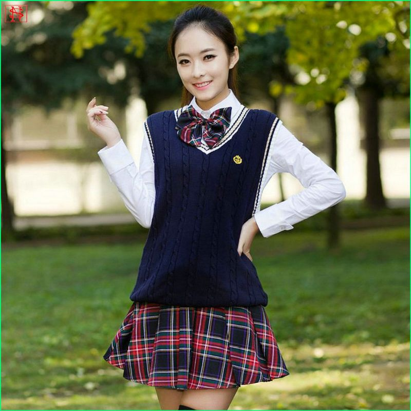 New arrival autumn factory fancy school pullover sweater