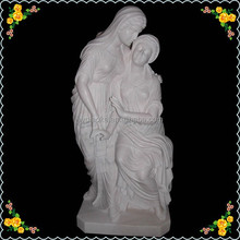 Garden stone carving holy family statue from picture