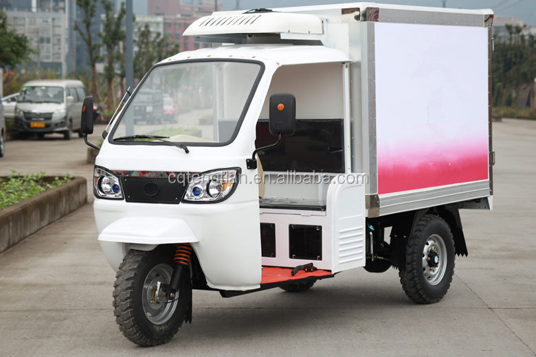 Chinese ice cream freezer tricycle
