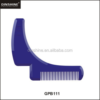 hot selling new design plastic Facial Shaping Tool Comb for Grooming