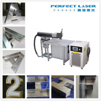 SUPER WELDER Laser Welding Machine for Sale 200W for Advertising Metal Letters Iron Steel Alloy