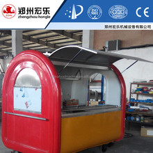 China Cutomized Bbq Snelle Mobiele Voedsel Winkelwagen voor sales