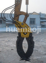 Hydraulic Rotating Grapple for Mini Excavator