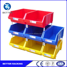 Series Size and Color Stackable Warehouse Plastic Storage Bins