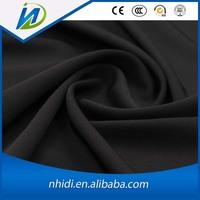 wholesale 100 cotton twill black fabric for pants