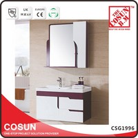 Chinese Modern Apartment Bathroom Vanity Wall Mounted China Cabinet
