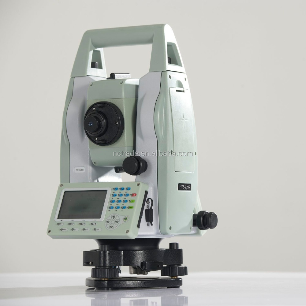 Dual axis laser plummet total station Hi-target brand HTS 220 suveying equipment