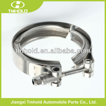 hot v band pipe exhaust muffler clamp for various engines