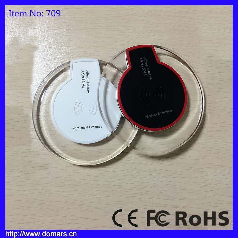 Hot Selling Wireless Charger For Samsung HTC Galaxy Battery Rechargeable
