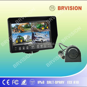 Heavy Duty Waterproof Night Vision Side View CCD Camera Car Reversing Camera System
