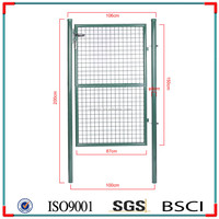 New Type Garden Simple Wrought Iron Gate Designs for House (discount to sale)