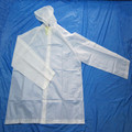 high quality transparent plastic clear rain coat