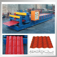 Steel Roofing Tiles Corrugating Iron Tiles Cold Forming Machine/Rolling Forming Galvanizing