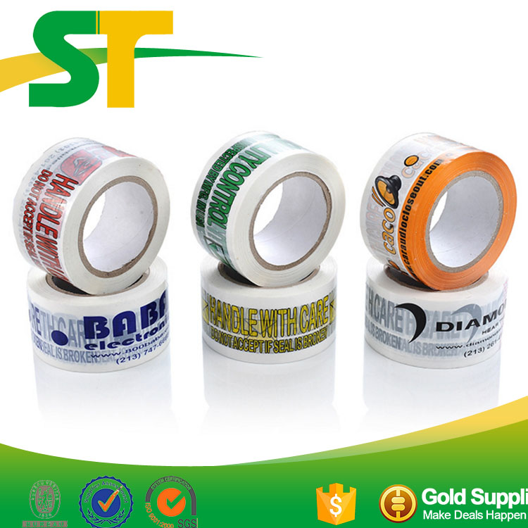 Factory direct sale cheap custom bopp packing tape with printed logo