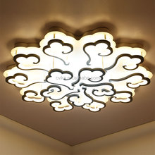 New model cloud shaped modern led ceiling light with remote control