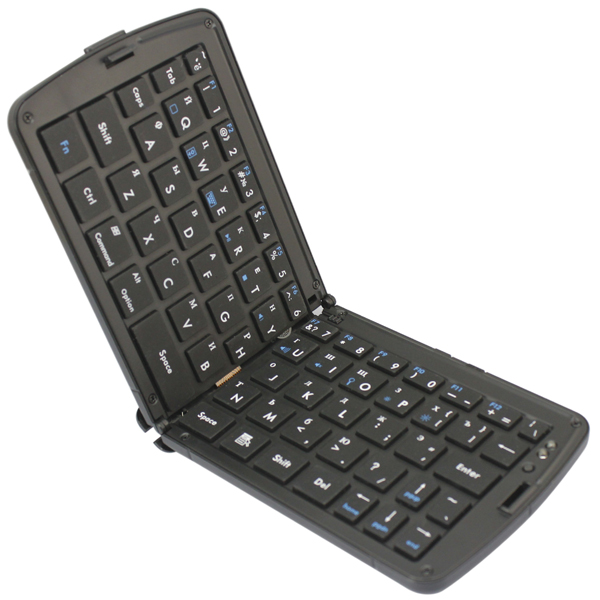 66 Keys Russian Portable Folding Wireless Bluetooth 3.0 Mini Keyboard For Android Smartphone Tablet iPad iPhone