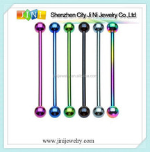 assorted fashion industrial barbells