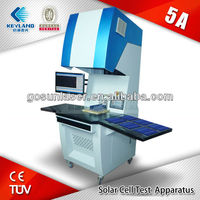 High Quality Solar Cell Test/Check Apparatus/test,result record of Mono-Si,Poly-Si sola cell pieces