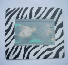 Customized photo frame mouse mat / photo insert eva mouse mat print customer's logo