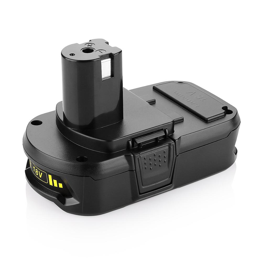 18v Replace Ryobi battery for P102 <strong>P103</strong> BPL-1815 BPL-1820G BPL18151 BPL1820 Rechargeable battery