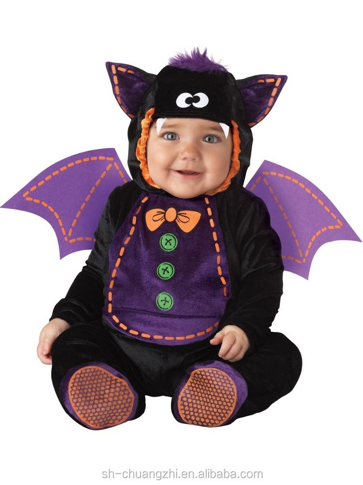 2016 carnival Cute New Cute fancy wholesale promational factory customized stuffed toys BABY PLUSH BAT Toddler COSTUME