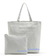 Wholesale fashion promotional custom printed white cotton canvas bag canvas tote bag