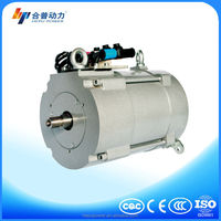 Electric car 10 internal spline low rpm ac gear motor HPQ3-48-10N for passenger