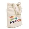 Eco friendly organic cotton promotional shoppping bag