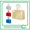 Wholesale nonwoven metallic shopper tote bag
