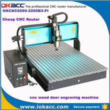 New machine 2015 2200w dependable cnc wood door engraving machine made in china wholesale