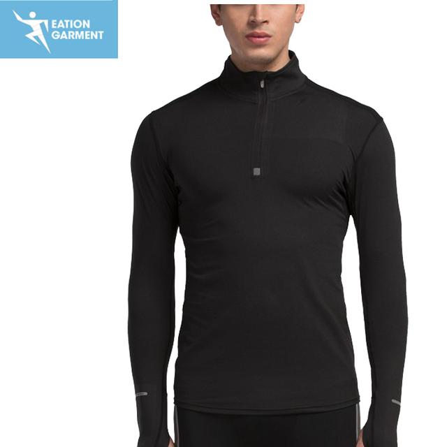 quarter zip pullover sweatshirt athletic apparel men