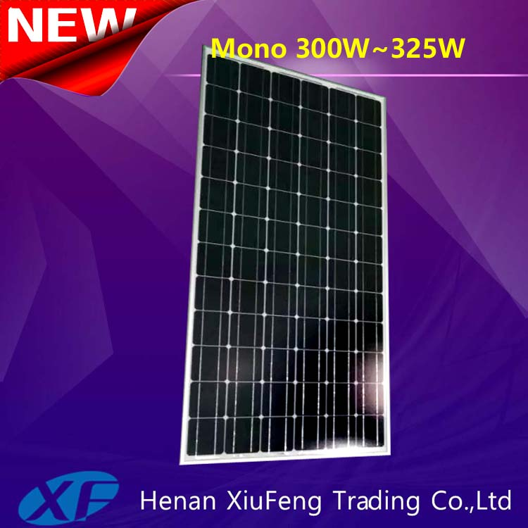 Best selling solar penel 320w mono with TUV CE certification for Israel