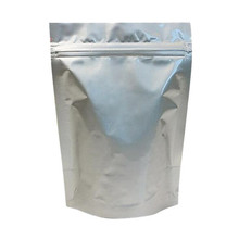 Silver zip lock China supplier plastic food aluminum foil packaging Bag/Aluminum Foil bags