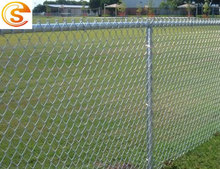 Apartment fence house used chain link fence for sale anti climb galvanized metal fencing