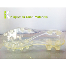 transparent tpu football shoe outsoles clear soccer shoes outer soles making in jinjiang factory KSGS-1521