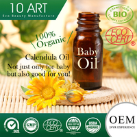 Organic Baby Body Massage Oil with Sunflower Seed Oil and Therapeutic Essential Oil
