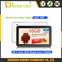 Tablet 10 Inch Allwinner A33 1G 16G Bulk Wholesale Android Tablets