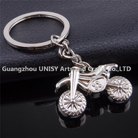 2016 new style fashion keychain metal Motorcycle Shape custom 3d metal keychain for motorcycle business promotion gift