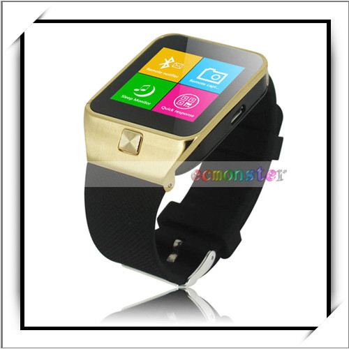 "ZGPAX S28 1.54"" 32MB and 32MB MTK6260 Bluetooth 3.0 Cheap Watch Mobile Phone Golden"