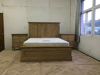 french style wooden latest bed designs