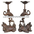 Dragon Turtle, Fengshui dragon turtle , Luckly Crane in the Dragon Turtle Candle holder