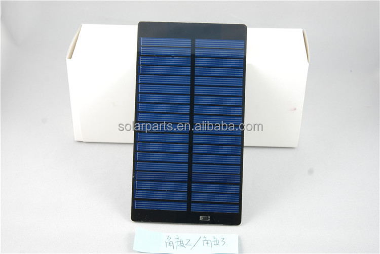 PET Laminated Solar Modules factory selling Price solar cell panel system kit toys led outdoor lights for educational kits