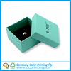 Alibaba china logo printed jewelry package ring box with foam insert