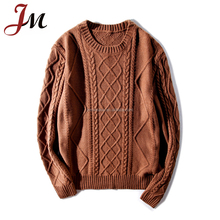 Tiara international sweaters cotton sweater cable knitting design