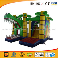 Cheap Inflatable Dragon Park Bouncer With Slide For Kids/Newest Commercial Use Jumping Castle With Slide/Hot Sale Bouncy Castle