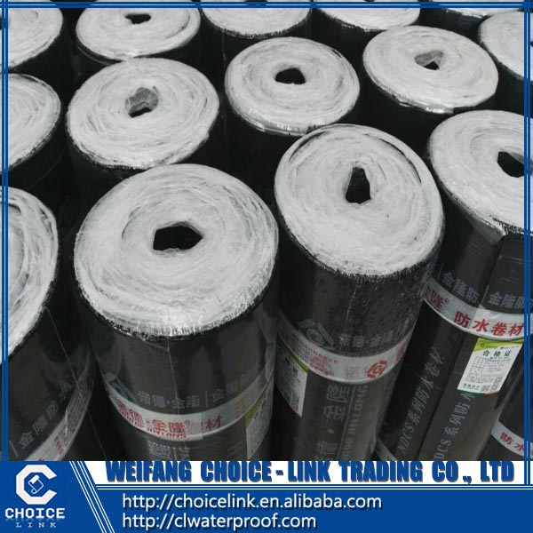 roof material 3mm SBS elastomeric modified bitumen waterproof membrane