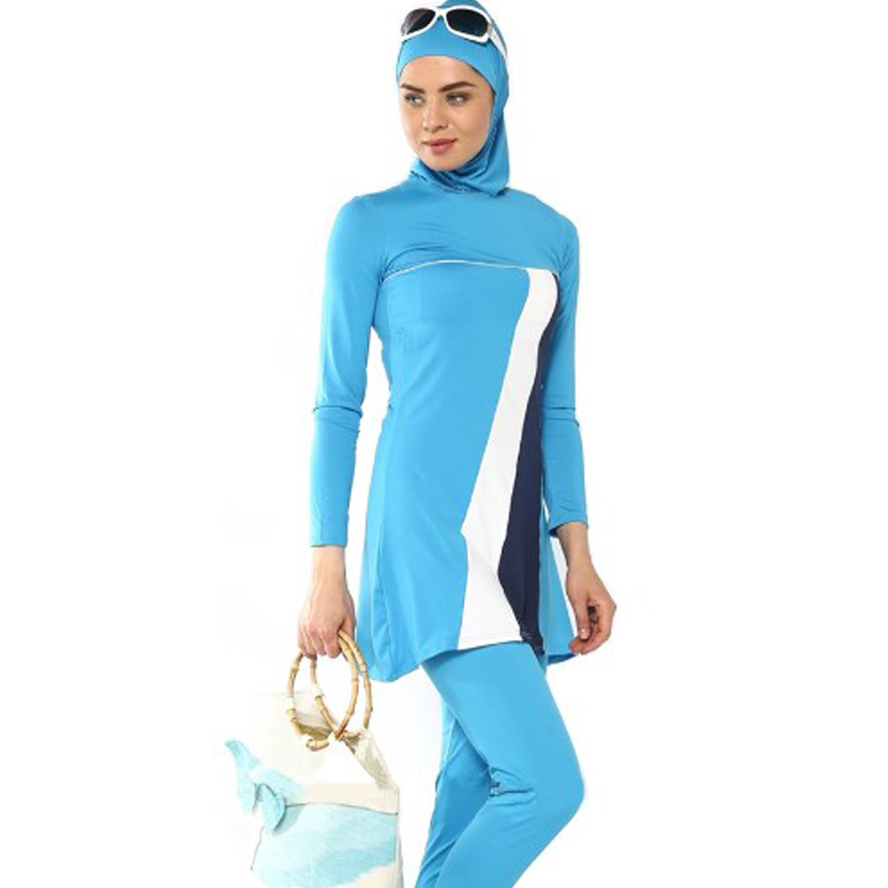 plus size muslim swimwear modest clothing for muslim women full cover islamic swimsuit