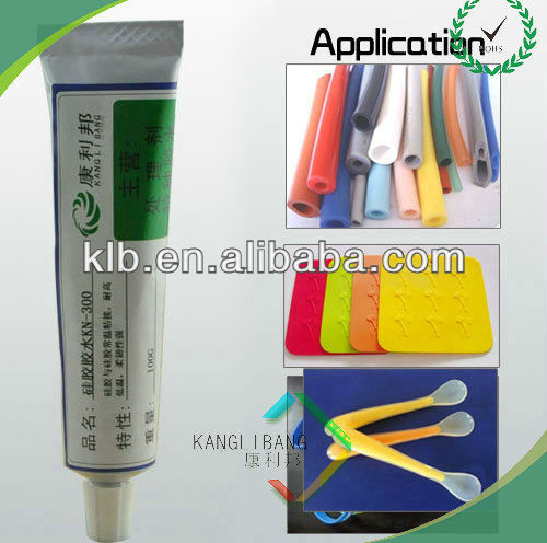 Silicone friction resistance glue for metal at room tempreture