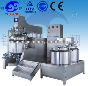 RHJ-C vacuum vacuum emulsifier homogenizing machine for cosmetic